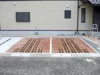 エコ・クール・パーキング施工実績 島根県出雲市個人宅さま