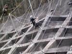 落石防護網施工事例3