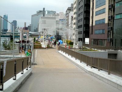 水都大阪2009 天満橋付近