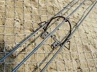 簡易吹付法枠工 イージーシェルフ工法 サンボタイプ